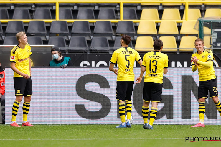 🎥 Bundesliga: Thorgan Hazard met goal en assist meteen op de afspraak, ook Boyata en Lukebakio boeken overtuigende zege