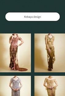 Kebaya design - náhled