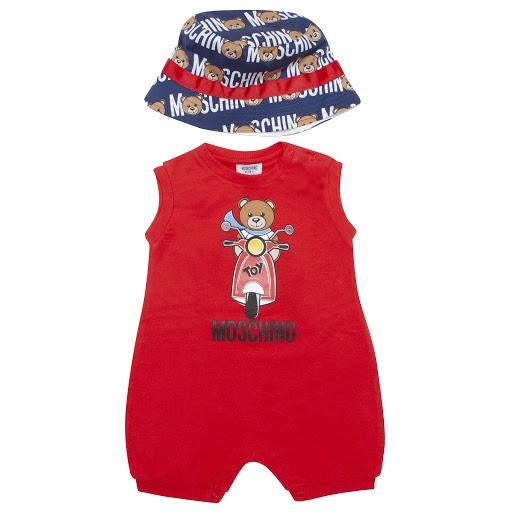 Primary image of Moschino Hat & Shortie Set
