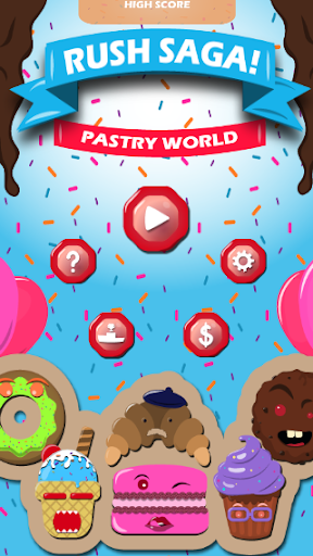 Rush Saga Pastry World