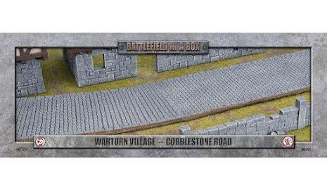 Wartorn Village - Cobblestone Road