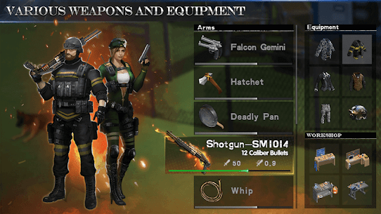 WarZ: Law of Survival MOD 1.8.7 (Unlimited Weapon/Armor) Apk + Data 8