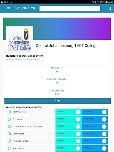 Gradesmatch App screenshot 16