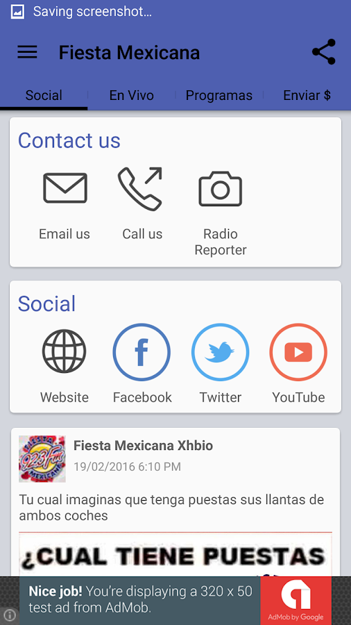 Fiesta Mexicana- screenshot