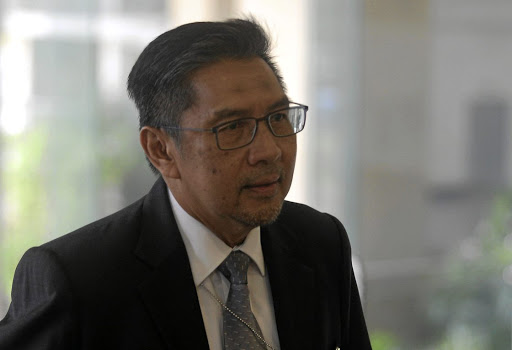The director-general of Civil Aviation Malaysia, Azharuddin Abdul Rahman, arrives for an MH370 meeting in Putrajaya, Malaysia on July 30 2018. Picture: REUTERS