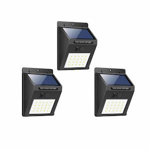 Solara Miscare 20 Lampa Set Perete Cu Ledcod De Senzor Oferta6168 3 X H92eDIWYEb