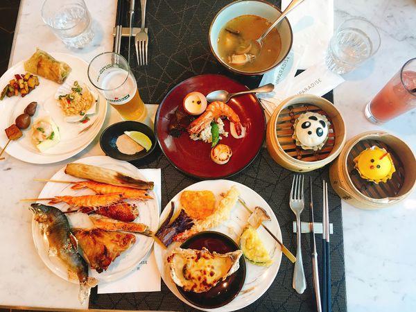 饗饗,全台北最難預約的吃到飽,鮑魚干貝任你吃配101夜景CP超高
