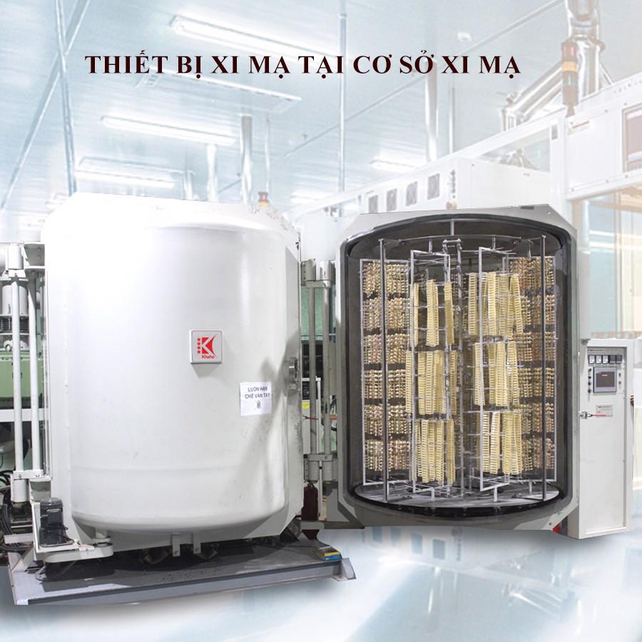 Thiết bị hiện đại được trang bị ở cơ sở xi mạ