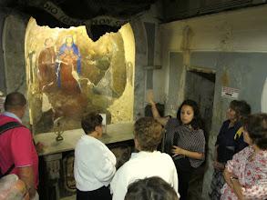 Photo: It.s1P29-141012visite grotte avec 'guide', fresque & autel épargnés miracileusement, S Maria Del Principio,Torre Del Greco   IMG_6326