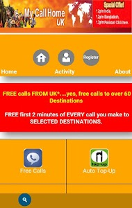 MyCallHome screenshot 1