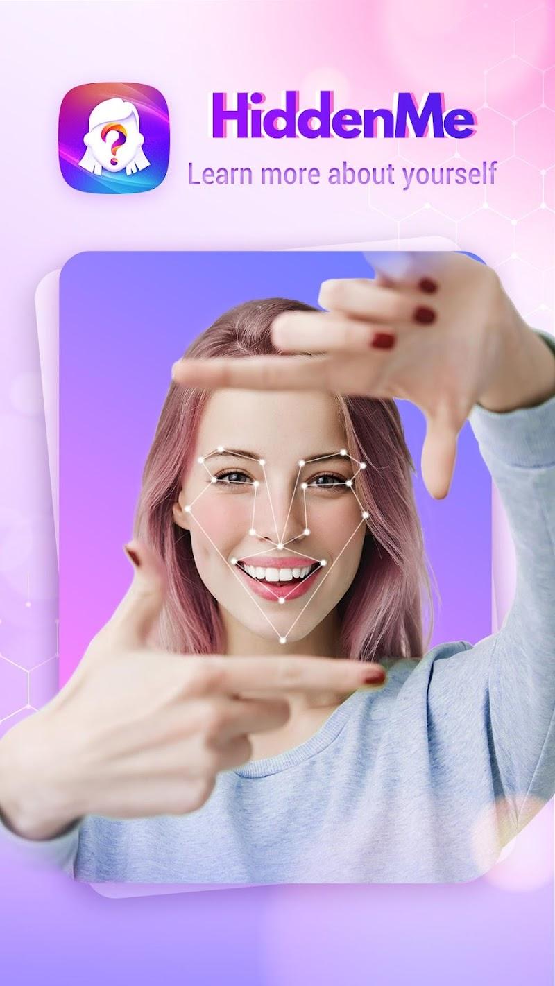 HiddenMe - Face Aging App, Face Scanner Screenshot 0