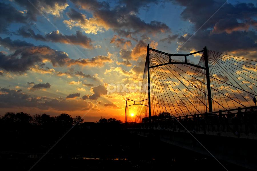 by Ayah Adit Qunyit - Landscapes Sunsets & Sunrises ( sky, sunset, landscape, , color, colors, portrait, object, filter forge, Urban, City, Lifestyle )