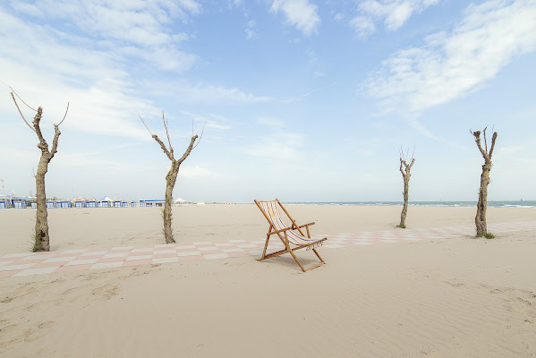 Spiaggia solitaria di Schivio