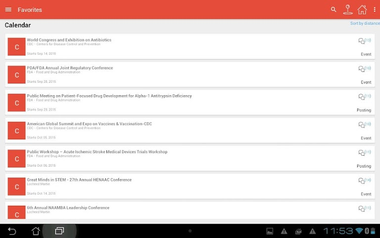 android Community Triangle Screenshot 8