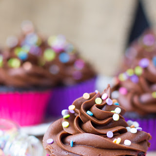 Easy, One Bowl, Chocolate Cupcakes.