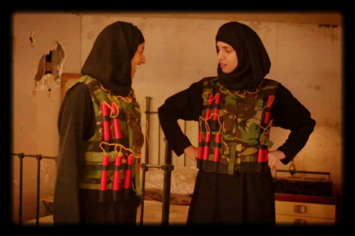 A scene from 'Real Housewives of ISIS'. Picture: BBC