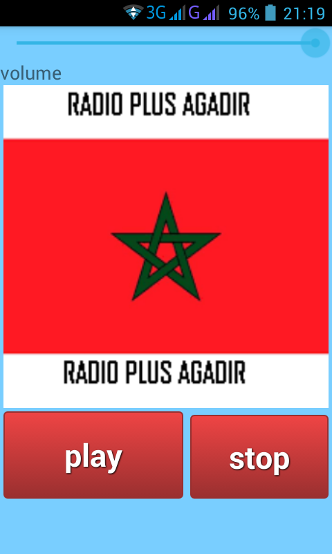 radio agadir plus- screenshot