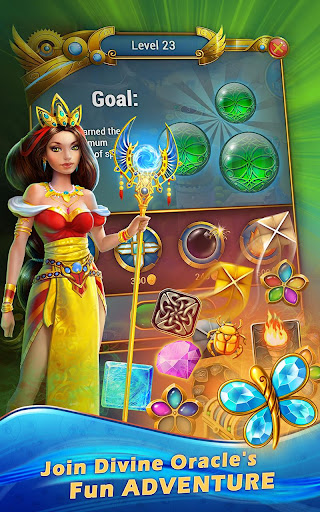 Lost Jewels - Match 3 Puzzle apkpoly screenshots 13