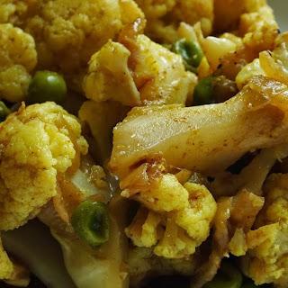 Samosa Inspired Cauliflower