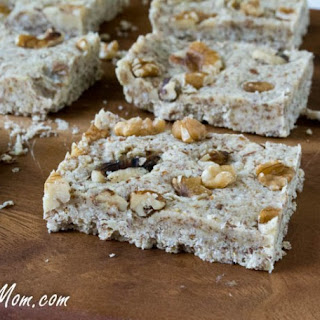 No Bake Maple Vanilla Fudge Protein Bars