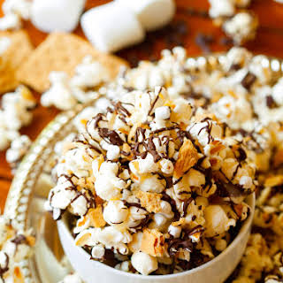 S'mores Popcorn Mix.
