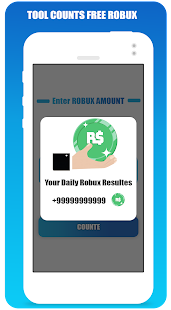 Free Robux Counter For Roblox Screenshot