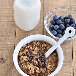 Warm Mocha Breakfast Quinoa.