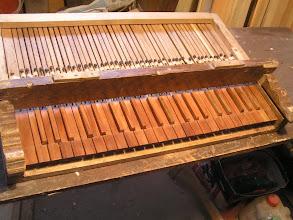 Photo: Klaviatura po restaurování