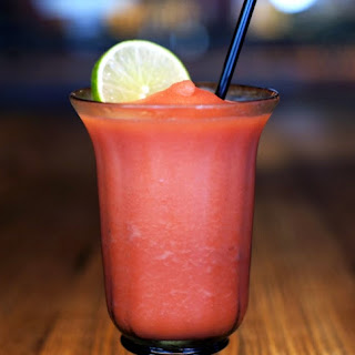 Frozen Blood Orange Margarita.