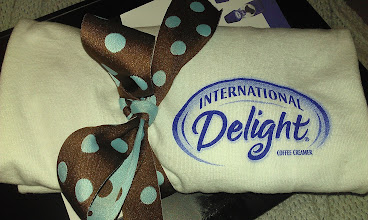 Photo: I received a care package from @InDelight Mocha #IcedCoffee...yum!!