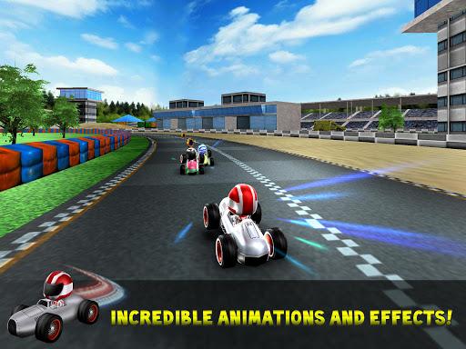 Kart Rush Racing - 3D Online Rival World Tour apktram screenshots 5