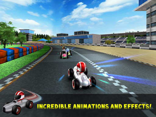 Kart Rush Racing - 3D Online Rival World Tour apkpoly screenshots 5