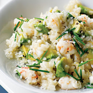 Avocado And Prawn Risotto (gluten-free)