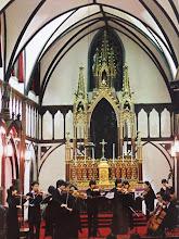 Photo: 国宝 大浦天主堂での公演中