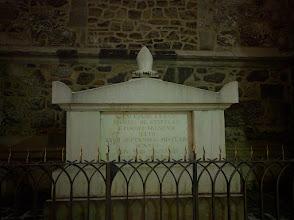 Photo: Creepy tomb...