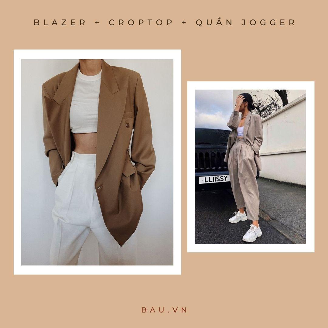 6 outfit kết hợp với blazer cho các nàng trở nên sang - xịn - mịn - ảnh 3