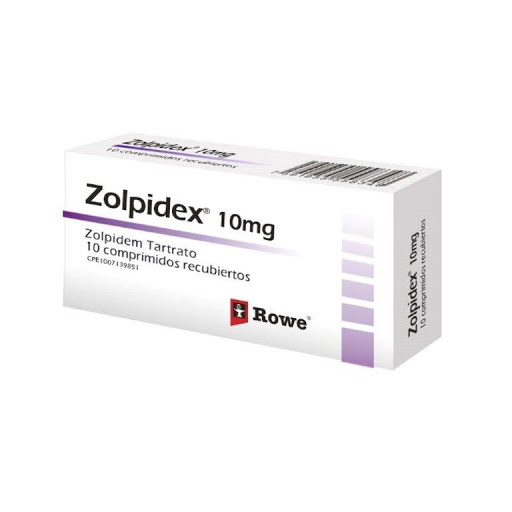 zolpidem zolpidex 10 mg x 10 comprimidos rowe 10 mg x 10 comprimidos