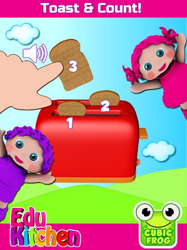 Toddler Kitchen Food Cooking Games-EduKitchen Girl 7.24 screenshots 13