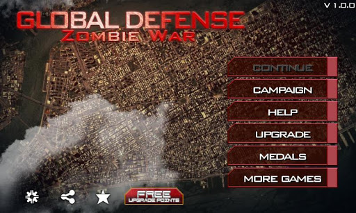 Télécharger gratuit Global Defense: Zombie War APK MOD 1