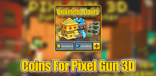 Coins For Pixel Gun 3D Prank for PC