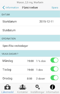 MinMedicinApp- screenshot thumbnail