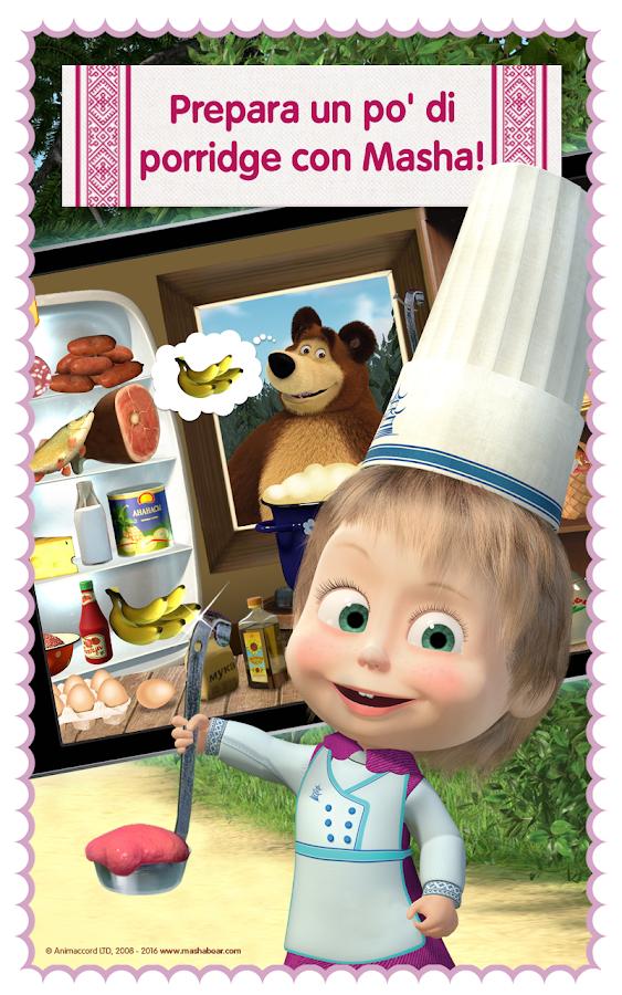 Masha: giochi di cucina gratis - App Android su Google Play