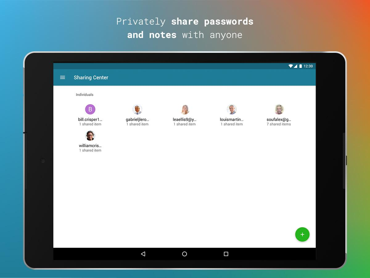 Dashlane Free Password Manager- screenshot