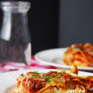 The Best Homemade Lasagna.