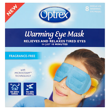 Optrex Warming Eye Mask - 8 Single Use Warming Eye Masks