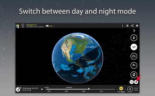 MeteoEarth screenshot 9