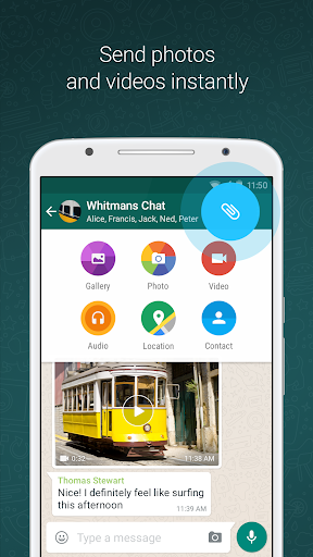 WhatsApp Messenger 2.19.11 screenshots 2