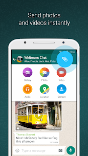 WhatsApp Messenger Beta (With Dark Mode) v2.20.26  Free Download For Android 2