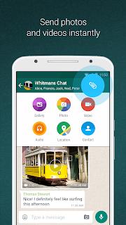 WhatsApp Messenger screenshot 01