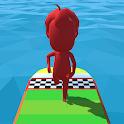 Run racing fun 3d game: Race 3d icon